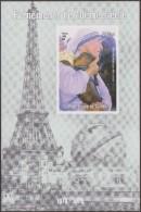 Guinée 1998. Evénements Du 20ième Siècle. Tour Eiffel, Mère Térésa Et Enfant. Non Dentelé. Prix Nobel - Premio Nobel