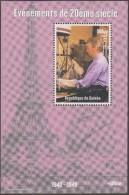 Guinée 1998. Evénements Du 20ième Siècle. Tour Eiffel, Baird, Pionnier De La Télévision - Télécom