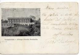 Campania-napoli- Ischia Casamicciola Vedutina Albergo Piccola Sentinella Fine 800 - Italia
