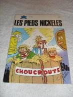 Les Pieds Nickeles Au Cirque N° 105 Edition 1982 - Pieds Nickelés, Les