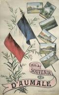 76 Souvenir D'AUMALE CPA Ed. Mme Tailleur à Aumale - Aumale