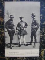 Les Chefs De Bande Grecque Karavitis Balanis Et Macris-cca 1910   (3129) - Grecia