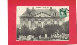 LONGWY 1913 HOTEL DE VILLE CARTE EN BON ETAT - Longwy