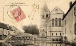 51 VERTUS Au Pays Du Champagne Eglise Et Puits Saint-Martin - Vertus