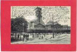 LONGWY HAUT 1910 L EGLISE L HOTEL DE VILLE CARTE EN BON ETAT - Longwy