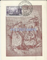 13808 AFRICA ALGER ALGERIA ARGELIA MAXIMUM ART SIGNED WOMAN & BABY WITH NURSE YEAR 1954 POSTAL POSTCARD - Algérie