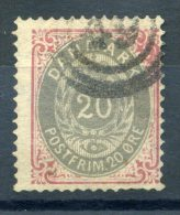 1875 DANIMARCA NUMERO 31 USATO - 1864-04 (Christian IX)