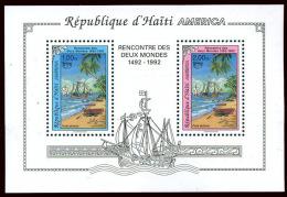 UPAEP - COLUMBUS - HAITI Block RRR!!! MNH VF - Timbres