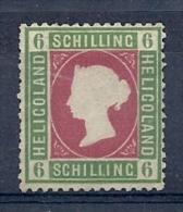 150021159  HELIGOLAND  YVERT  Nº  4  */MH  (NO GUM) - Heligoland (1867-1890)