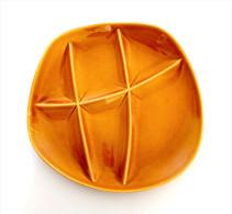 ASSIETTE A FONDUE Ou HUITRE MAGNIFIQUE PLATEAU SALINS BARBOTINE FRANCE VINTAGE - Plates