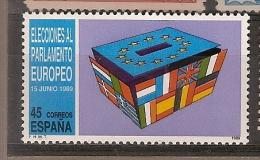 Spain **& Eleições Para O Parlamento Europeu 1989 (2628) - Timbres