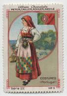 Nestlé (dentated) - XIX - Costumes, Dresses - 11 - Portugal - Nestlé