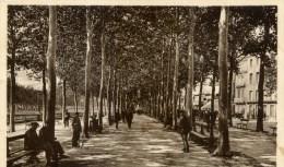 11 NARBONNE Promenade Des Barques Animée - Narbonne