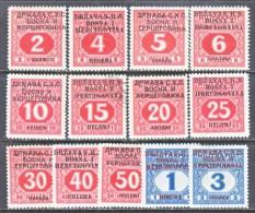 Bosnia And Herzegovina  1 L J 1-13   *   (o) - Bosnia And Herzegovina