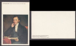 Sir Rowland Hill, Portrait In National Postal Museum, London - Postal Services