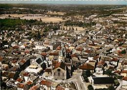 87 SAINT JUNIEN Vue a�rienne Quartier de la bourse CPSM GFD Ed. Combier / Cim 15824