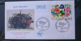 FDC  JEAN TINGUELY  1988   247 - FDC