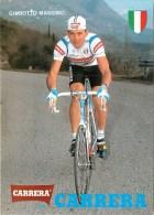 Tour De France - Cyclisme - ** GHIROTTO Massimo-Team CARRERA - Italie ** - Carte Photo Collector - TB - Cyclisme