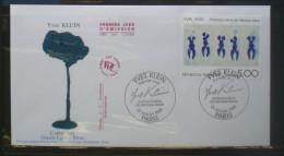 FDC   YVES KLEIN  1989  251 - FDC