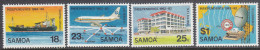 SAMOA, 1982 ANNIVERSARY 4 MNH - Samoa