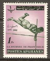 AFGHANISTAN.    1962.  Journée Du Professeur.    SAUT  A  LA  PERCHE. - Afghanistan