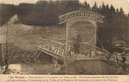 - Ref -H68 - Belgique -  La Hoegne - Pont Rustique Du Centenaire  - Limite Entre Sart Lez Spa Et Francorchamps - - Belgique