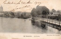 PONTARLIER  Le Doubs  1909 - Pontarlier