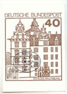 ALLEMAGNE - Carte Maximum - 1980 - BONN - Duitsland