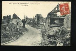 Somme 80 Ruines De Montdidier 3401 Rue De Paris 1919 - Montdidier