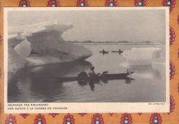 1 Cpa GROENLAND KAJAKKER PAA SAELFANGST DES KAIAKS A LA CHASSE DE PHOQUES - Groenlandia