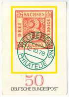 ALLEMAGNE - Carte Maximum - 1978 - MUNSTER - Hobby 79 - 08.04.1979 - Germania