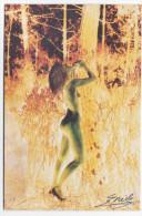 Vrouw In De Vrije Natuur Fantasmagories Mooi - Autres