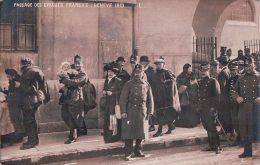 Guerre 14-18, Genève, Passage Des Evacués Français (1915) - Oorlog 1914-18