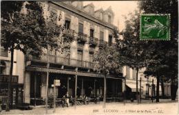 LUCHON ,HOTEL DE LA PAIX,JOLI PLAN ANIME  REF 44493 - Luchon
