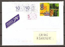PAYS BAS  /   NEDERLAND.   -   LETTRE  Pour Les Vosges.  -     Floralies  /   FLEURS. - Period 1980-... (Beatrix)