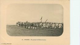 Harrar : Un Groupe De Soldats Abyssins - Ethiopia