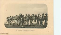 Harrar : Soldats Abyssins En Uniforme - Ethiopia