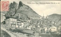 06 - Tenda, (Valle Roia) Panorama Sezione Villa - Francia