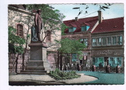 4801   Cpm  NEUNKIRCHEN : Stummdenkmal 1955 , Carte Photo !! - Saarpfalz-Kreis