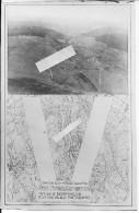 Meuse Rembercourt Photo Didactique Us Army Pour La Prise Et L'identification De Vues Obliques 1 Photo 1914-1918 Ww1  Wk1 - War, Military