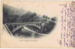 Cpa Pont Et Chapelle SAINT ROCH - Thiers