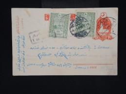 TURQUIE - Entier Postal +complément Des Années 1920 - Aff. Plaisant - à Voir - Lot P8566 - 1858-1921 Empire Ottoman