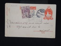 TURQUIE - Entier Postal ( Léger Plis ) + Complément Des Années 1920 - Aff. Plaisant - à Voir - Lot P8567 - 1858-1921 Empire Ottoman