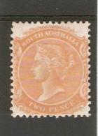 SOUTH AUSTRALIA 1895 2d Pale Orange SG 177 Perf 13 LIGHTLY MOUNTED MINT Cat £14 - 1855-1912 South Australia
