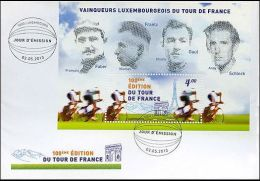 Luxembourg 2013 FDC Sport, Cycling, Tour De France - FDC