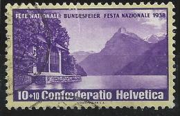 YY--229-  ( ZUMSTEIN N° 1z ) N° 311a, Obl.,  COTE 120.00 €, PAPIER GRILLE, VOIR SCAN,  Je Liquide - Schweiz