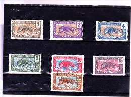 CONGO : Y&T : 48 à 53*-54 O - Congo Français (1891-1960)