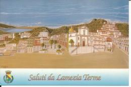 CZ056 - SALUTI DA LAMEZIA TERME - VIAGGIATA 2002 - Lamezia Terme