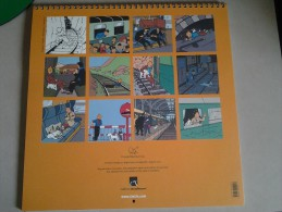 Calendrier TINTIN 2012 - Unclassified