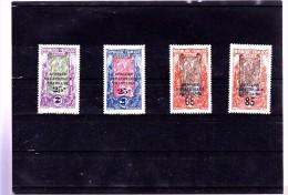 CONGO : Y&T : 89 à 92* - Congo Français (1891-1960)